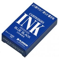 Tintenpatronen Platinum Blau-Schwarz