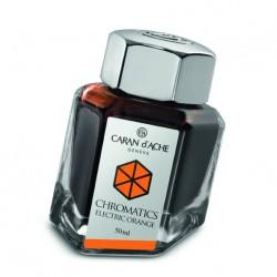 Tintenglas Caran d'Ache Electric Orange_1200