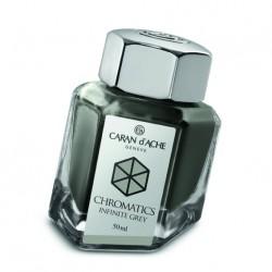 Tintenglas Caran d'Ache Infinite Grey_1203