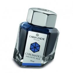 Tintenglas Caran d'Ache Magnetic Blue_1205