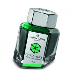 Tintenglas Caran d'Ache Vibrant Green_1208