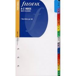 Register A-Z farbig Filofax Personal_2690