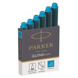 Tintenpatronen Parker Mini Türkis_2706