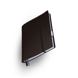 Notizbuch  Whitebook  Medium-Large Chocolate_2782