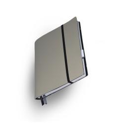 Notizbuch  Whitebook  Large Slim Gris Perle_2803