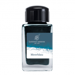 Tintenglas  Landolt-Arbenz Meer-Blau (Mediterranean blue)_3230