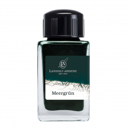 Tintenglas  Landolt-Arbenz Meergrün (Teal)_3231