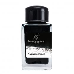 Tintenglas  Landolt-Arbenz Nachtschwarz (Jet Black)_3234