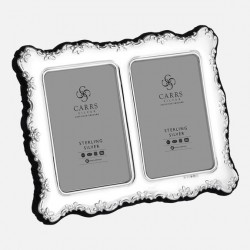 Fotorahmen für 2 Bilder Carrs Silber 6x9 cm_4172