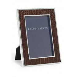 Fotorahmen Ralph Lauren Leder braun 13x18 cm_4180