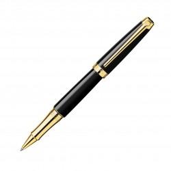 Tintenroller Caran d'Ache Léman Ebony schwarz Gold_4614