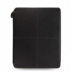 Schreibmappe A4 Filofax Classic Stitch Soft Schwarz_4749