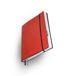 Notizbuch  Whitebook  Large Slim Rot_4946