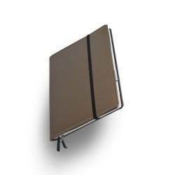 Notizbuch  Whitebook  Large Premium Taupe_5193