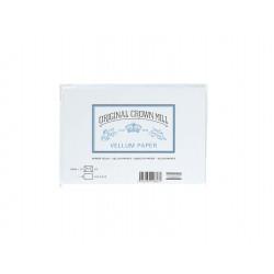 Karten und Briefumschläge Crown Mill Vellum Weiss A6/C6_5536