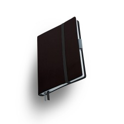 Agenda Medium 2020 Whitebook Softleder Schwarz