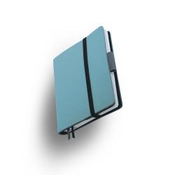 Agenda Small Whitebook Softleder Türkis_6052