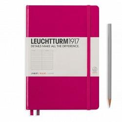 Notizbuch A5 Leuchtturm  Beere liniert_6062