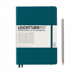Notizbuch A5 Leuchtturm  Pacific Green liniert_6066