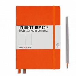 Notizbuch A5 Leuchtturm  Orange blanko_6068