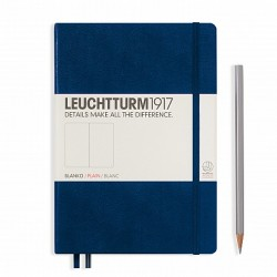Notizbuch A5 Leuchtturm  Marin blanko_6070