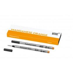 Tintenrollerpatronen Montblanc Manganese Orange_6469