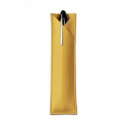 Etui für 1 Schreibgerät Treuleben Leder Mustard_7090