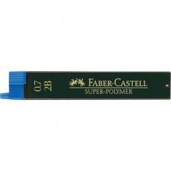 Bleistiftminen 0,7 Faber-Castell Super-Polymer-Feinminen 2B_7290