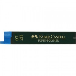 Bleistiftminen 0,7 Faber-Castell Super-Polymer-Feinminen 2H_7291