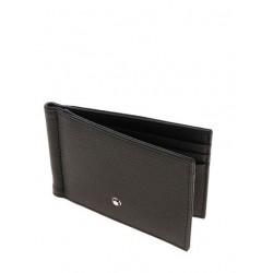 Kreditkartenertui mit Geldclip Montblanc Soft Grain Schwarz_8090