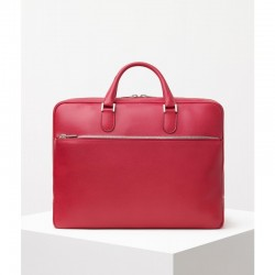 Aktentasche Valextra Accademia Classic Rot_8262