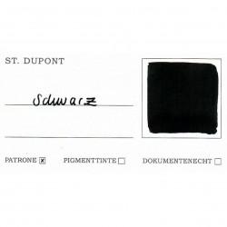 Tintenglas S.T. Dupont Schwarz