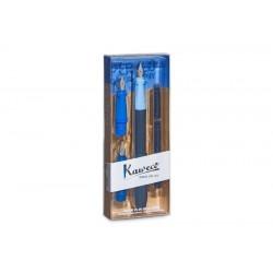 Kalligraphie Set Kaweco  PERKEO Blau